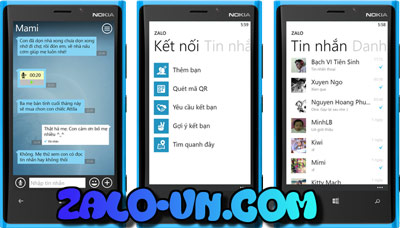 zalo-windows-phone